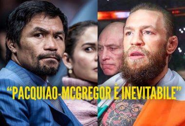"""Il manager di McGregor: """"Il prossimo match sarà con Pacquiao"""" 5"""