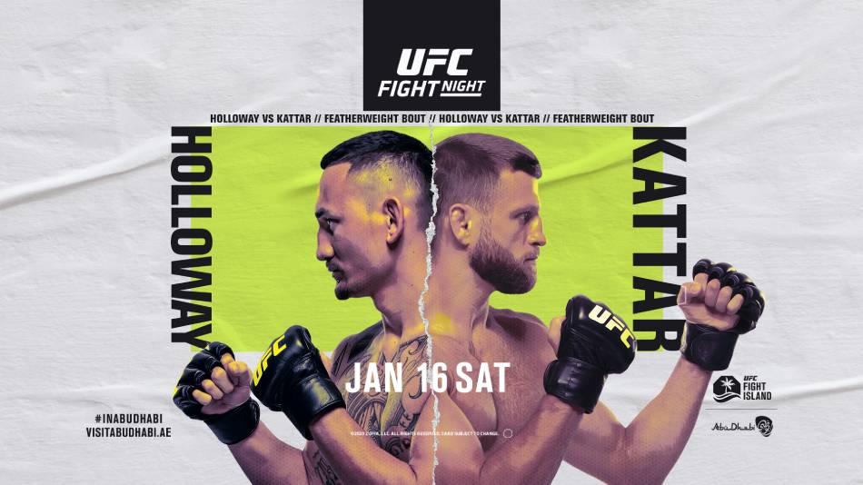 UFC on ABC: Holloway vs. Kattar 1