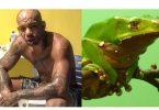 Erberth Santos fa il rito del Kambo, con il veleno di una rana amazzonica (foto) 1