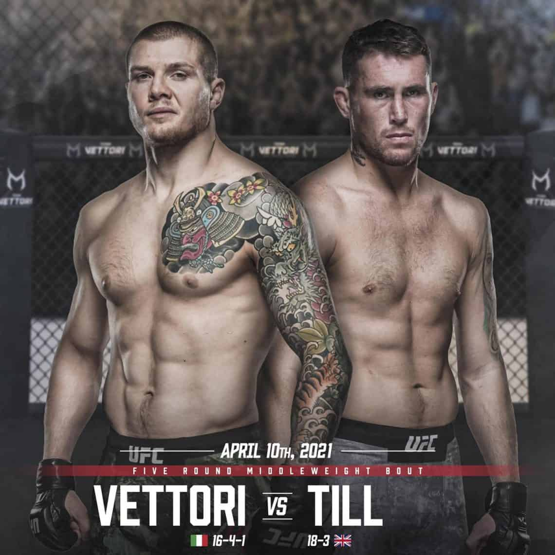 UFC Fight Night 188: Marvin Vettori vs Till 1