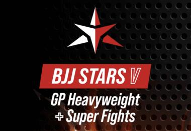 Il torneo pesi massimi del BJJ Stars V fa paura! Ecco la card 7