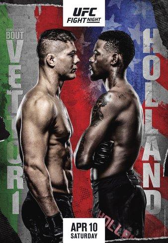 UFC on ABC 2: Vettori vs Holland 1