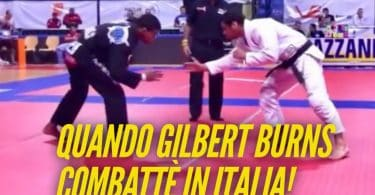 Quando il fighter UFC Gilbert Burns fece un match di BJJ in Italia (VIDEO) 3