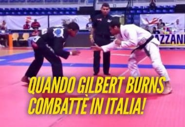 Quando il fighter UFC Gilbert Burns fece un match di BJJ in Italia (VIDEO) 2