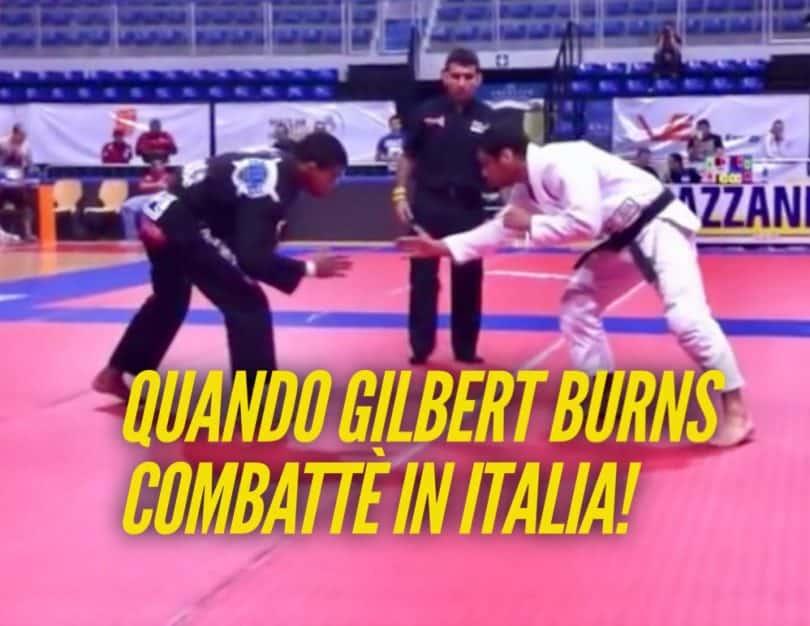 Quando il fighter UFC Gilbert Burns fece un match di BJJ in Italia (VIDEO) 12