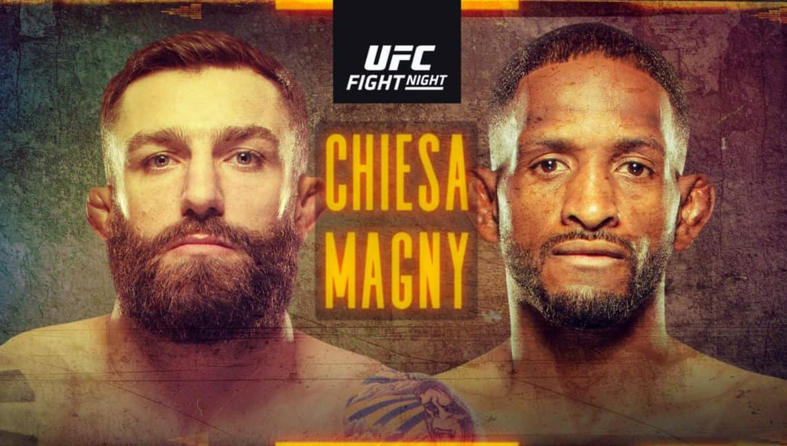 UFC on ESPN 20: Chiesa vs. Magny 1