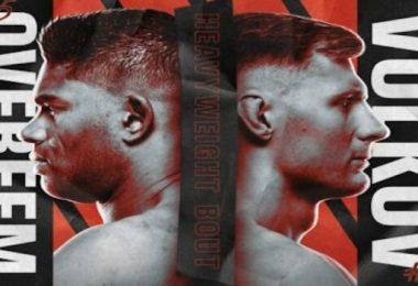 """Risultati UFC fight night 184: """"Overeem vs Volkov"""" 2"""