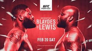 RISULTATI UFC Fight Night 185: Blaydes vs Lewis 1