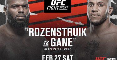 PRONOSTICI UFC Fight Night 186: Rozenstruik vs. Gane, ecco chi vincerà! 1