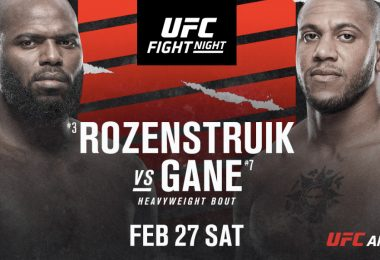 PRONOSTICI UFC Fight Night 186: Rozenstruik vs. Gane, ecco chi vincerà! 1