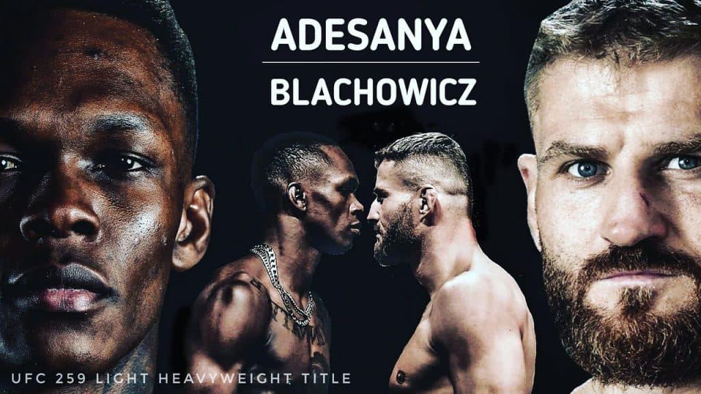 UFC 259: Blachowicz vs. Adesanya 4