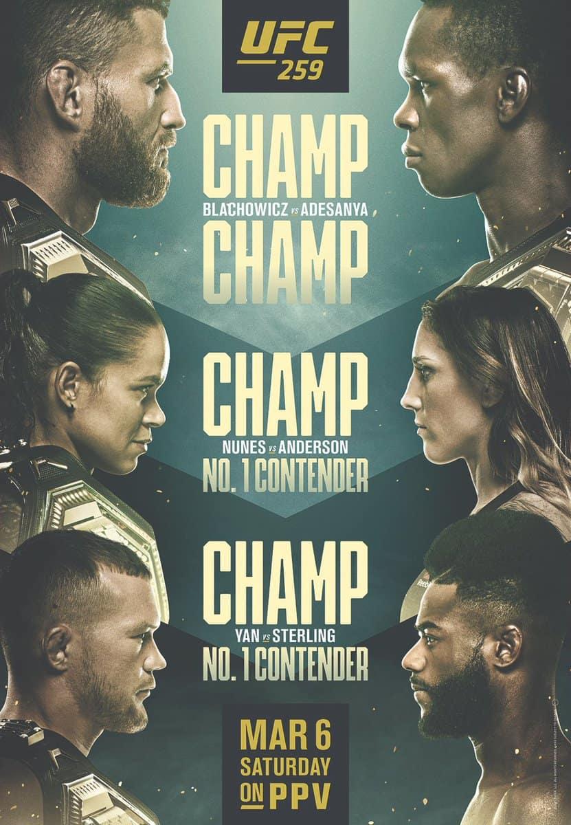 Chi sono i prossimi avversari per i protagonisti di UFC 259? 1