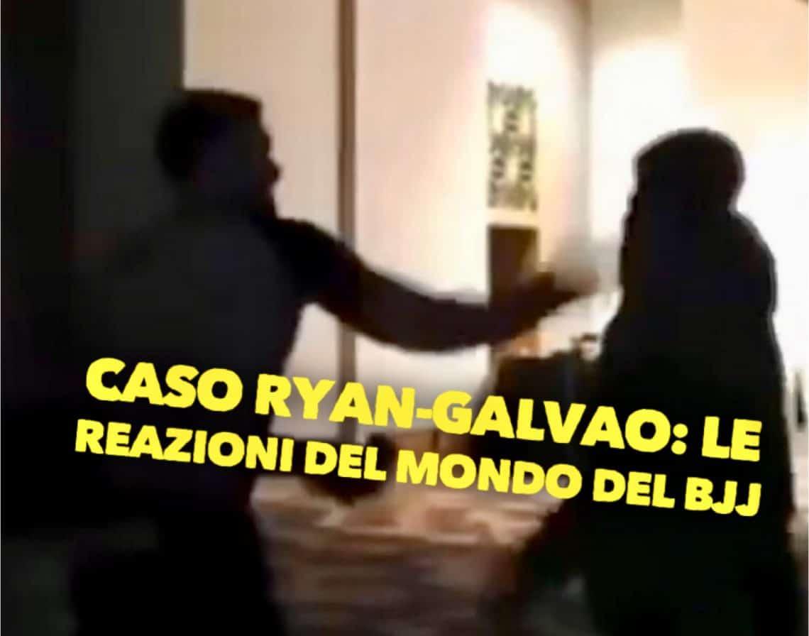 Caso Ryan-Galvao: le reazioni del mondo del BJJ 1