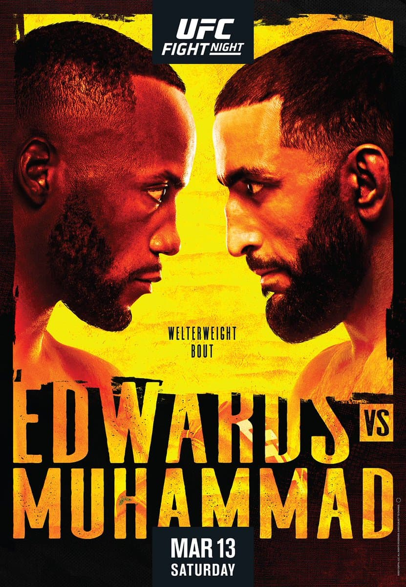 UFC Fight Night 187: Edwards vs. Muhammad 1