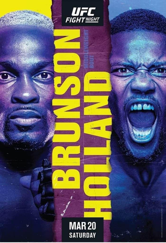 Brunson il guastafeste! UFC Vegas 22: i prossimi match da fare. 2
