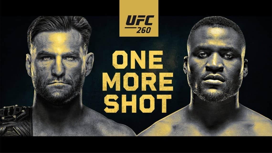 """UFC 260: """"Miocic vs Ngannou 2"""" 1"""