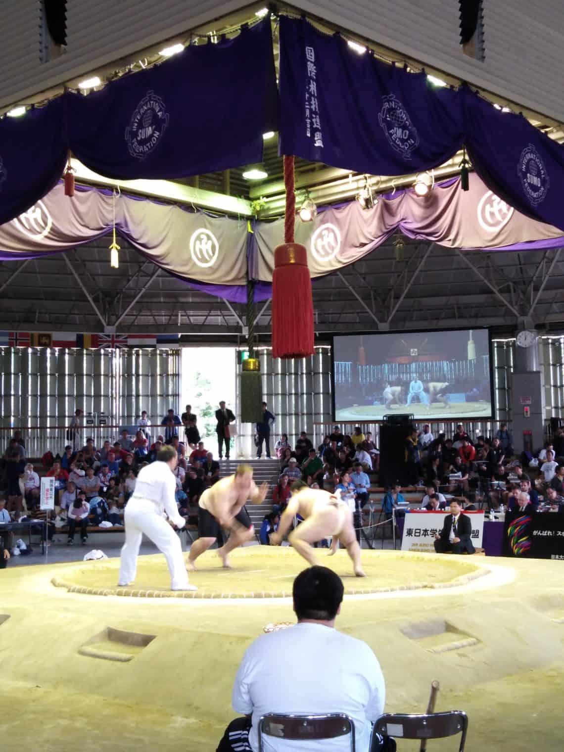 Campionato Italiano di sumo 2021 1