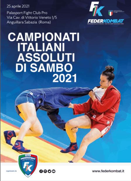 Campionato Italiano assoluto di sambo 2021 1