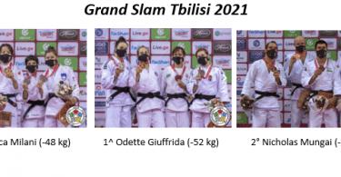 Grande Italia al Grand Slam di Tbilisi e un tributo a Koga 10