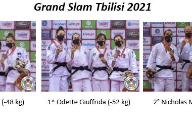 Grande Italia al Grand Slam di Tbilisi e un tributo a Koga 5
