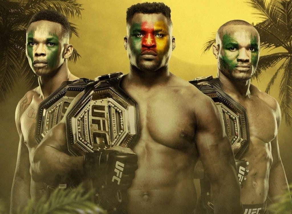AFRICA DOMINATRICE: LA NUOVA ERA UFC! (2021) 5