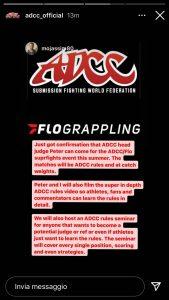 ADCC vuole organizzare un evento di Superfight, impatterà sulle qualificazioni 3