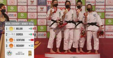 Primato dell'Italia nel medagliere del Grand Slam di Antalya 6