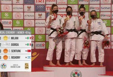 Primato dell'Italia nel medagliere del Grand Slam di Antalya 8