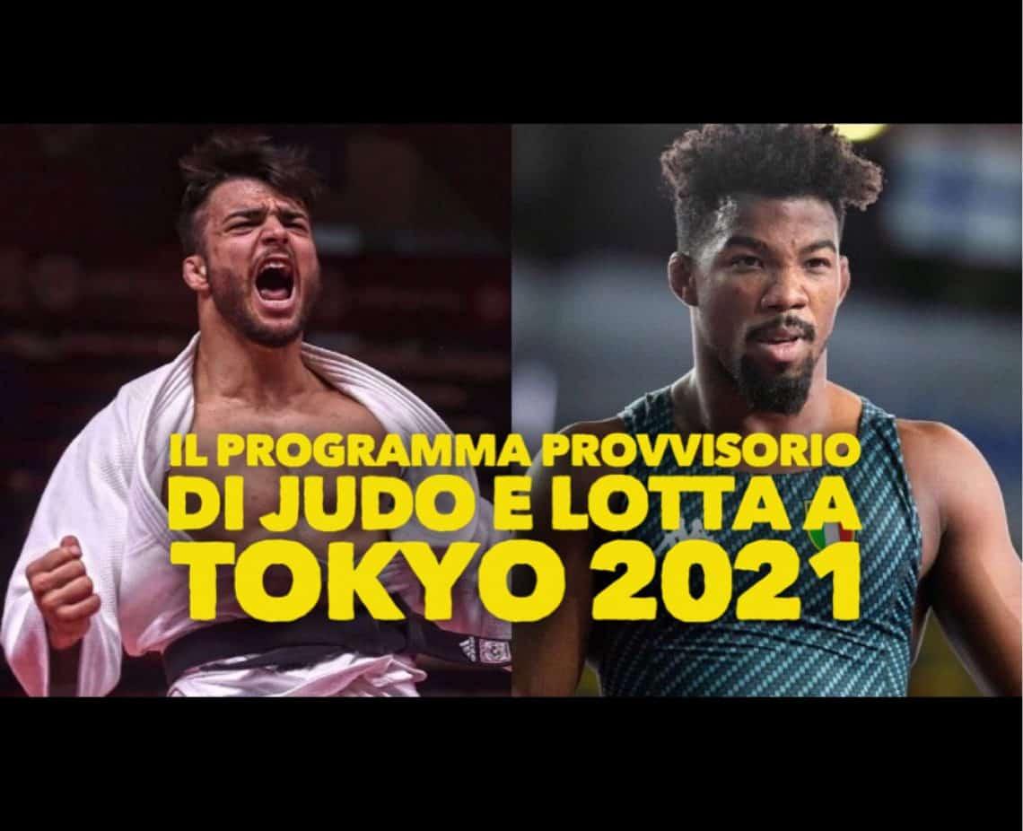 Il programma provvisorio di Judo e Lotta alle Olimpiadi di Tokyo 2021 1