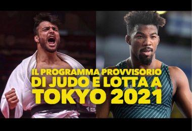 Il programma provvisorio di Judo e Lotta alle Olimpiadi di Tokyo 2021 3
