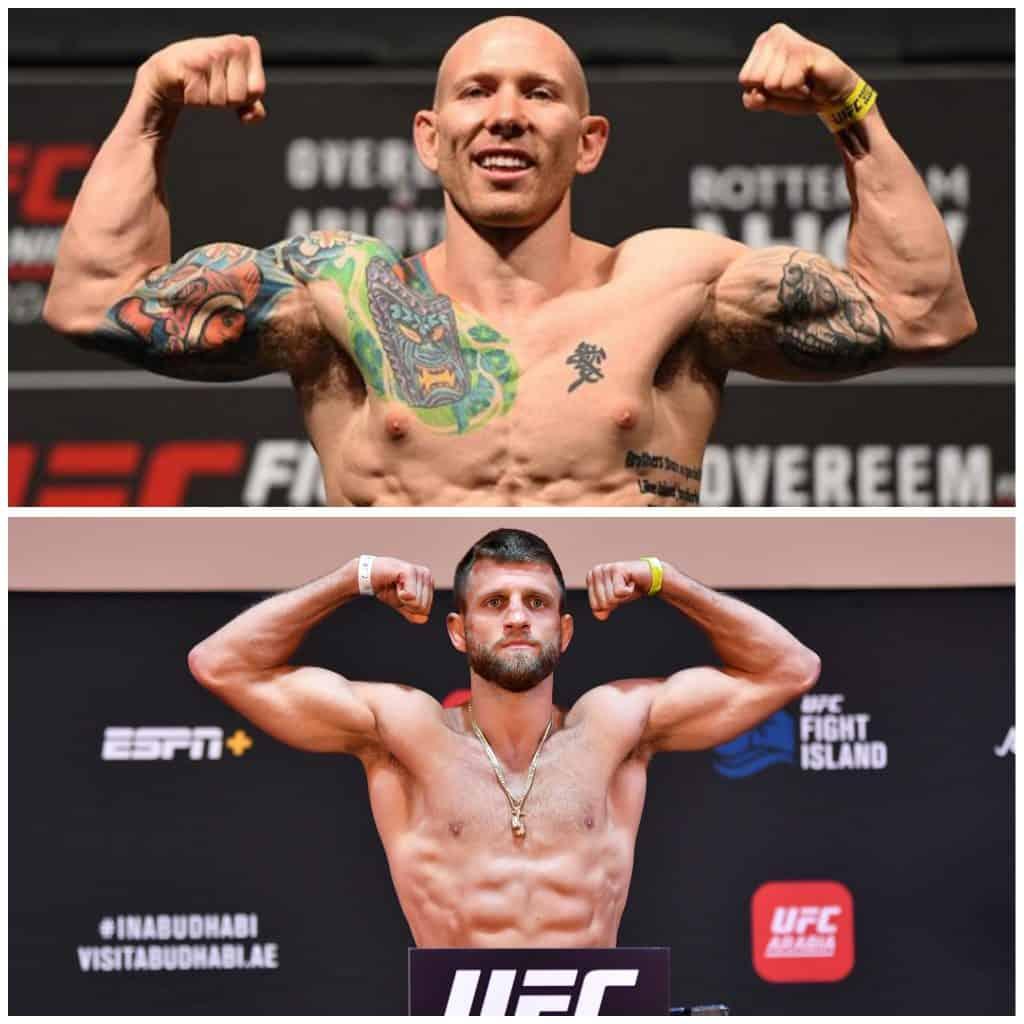 Pesi piuma UFC: la situazione in top 15. (Aprile 2021) 5