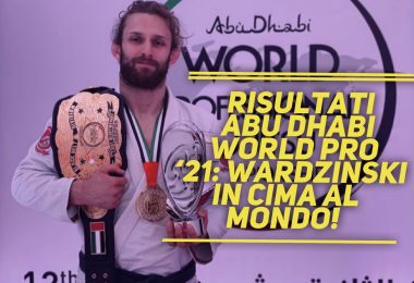 Risultati Abu Dhabi World Pro '21: Wardzinski in cima al mondo! 2