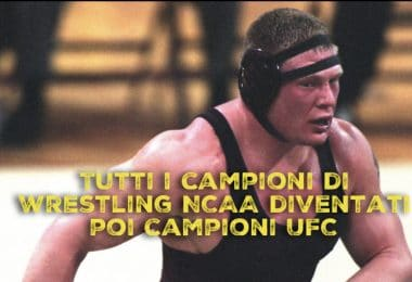 Tutti i campioni di Wrestling NCAA diventati poi campioni UFC 3