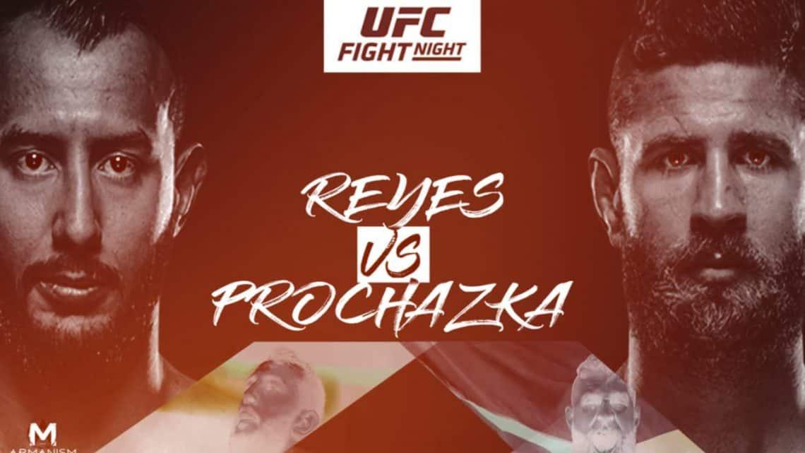 UFC Vegas 25: Reyes vs. Procházka