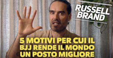 L'attore Russell Brand e i 5 motivi per cui il BJJ rende il mondo un posto migliore (VIDEO) 5