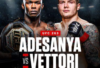 UFFICIALE: Marvin Vettori vs Israel Adesanya 2 all'UFC 263 6