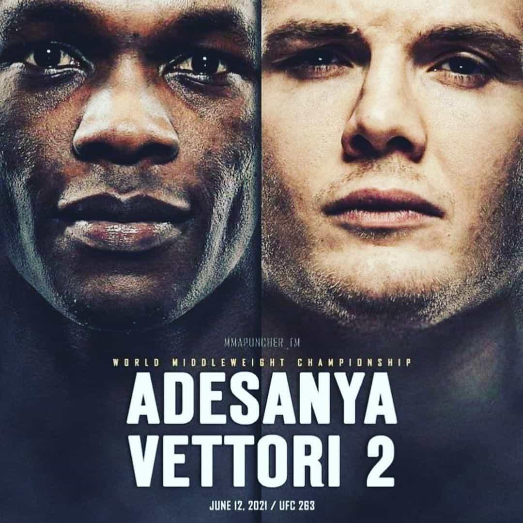UFC 263: Adesanya vs Vettori 2 3