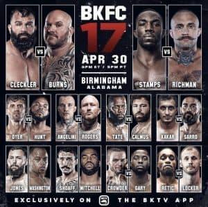 Bare Knuckle Boxing: l'italiano Dimitri Angelini debutta in BKFC! 2