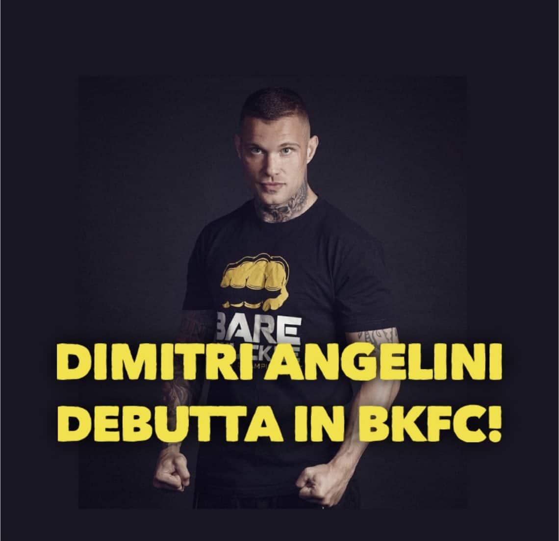 Bare Knuckle Boxing: l'italiano Dimitri Angelini debutta in BKFC! 1