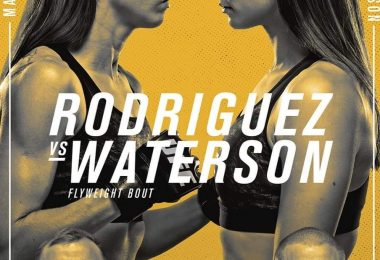 UFC on ESPN 24: Rodriguez vs. Waterson