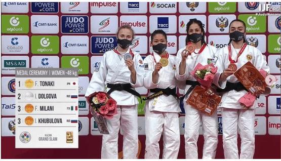Francesca Milani: terza a Kazan e pass per Tokyo 1