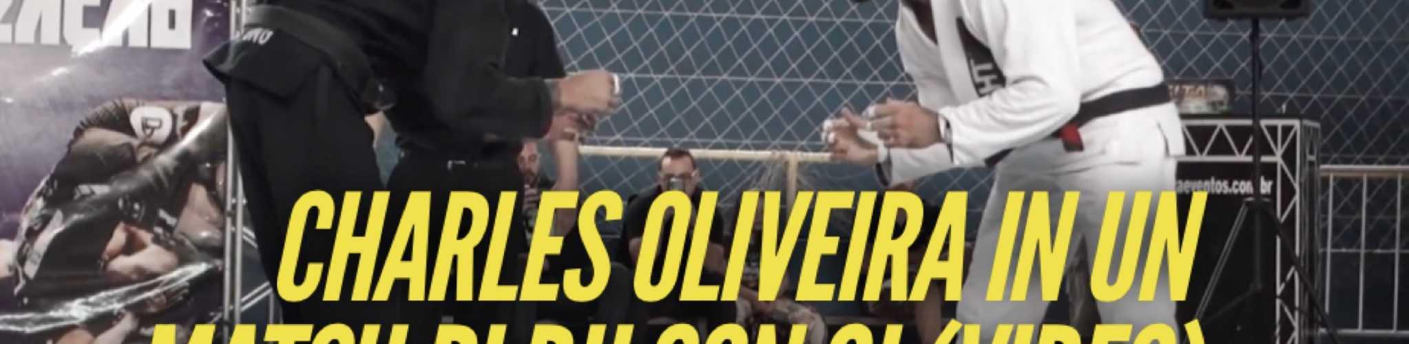 Charles Oliveira in un match di BJJ con Gi (VIDEO) 1