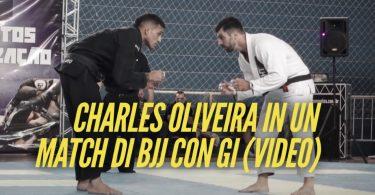 Charles Oliveira in un match di BJJ con Gi (VIDEO) 2