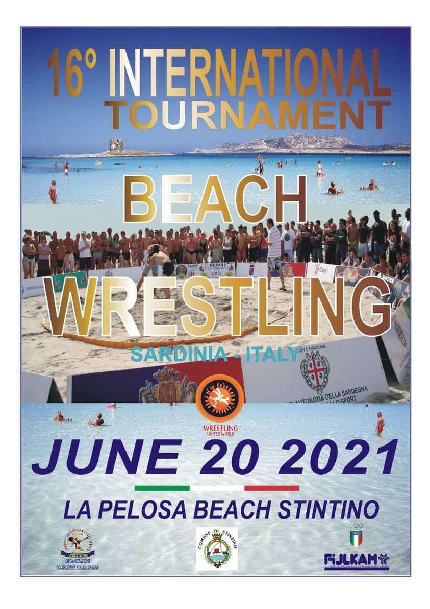 Beach Wrestling Sardegno 2021 1