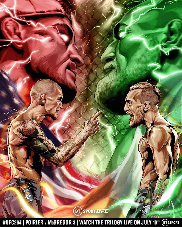 UFC 264: POIRIER VS MCGREGOR 3 1