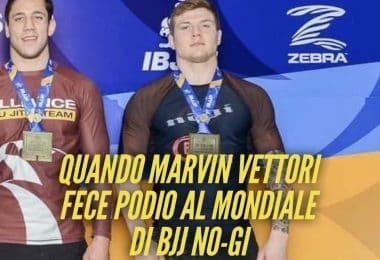 Quando Marvin Vettori fece podio al Mondiale di BJJ No-Gi (foto) 4