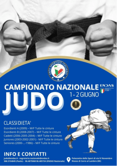 Le gare di judo ripartono dalla Lombardia 1