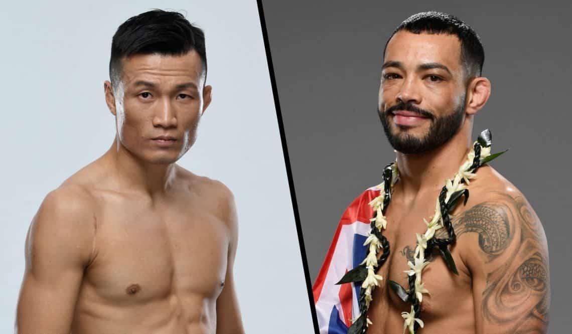 UFC Vegas 29: The Korean Zombie vs. Ige 1
