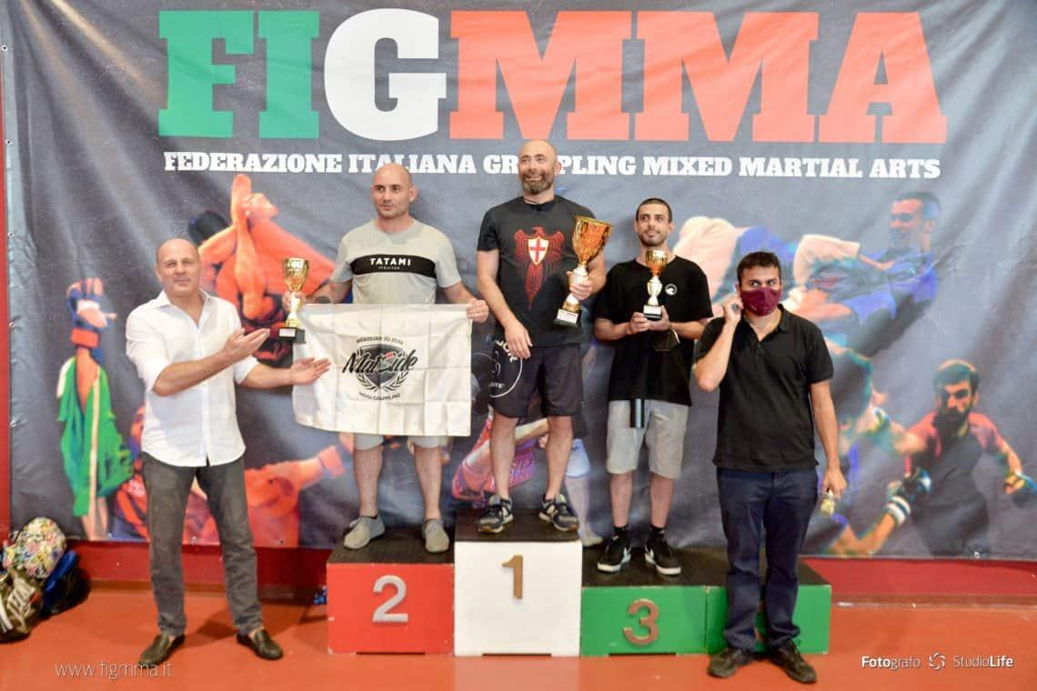 Risultati del 13° Campionato Italiano di grappling no-gi FIGMMA 1
