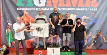 Risultati del 13° Campionato Italiano di grappling no-gi FIGMMA 12